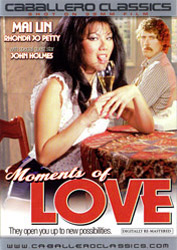 dvd cover Moments of Love